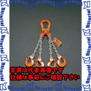 【代引不可】【個人宅配送不可】ESCO(エスコ) 2.5tonx3.0m スリングチェーン(4本懸け) EA981VE-3[ESC101734]