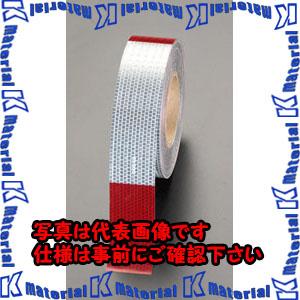 【代引不可】【個人宅配送不可】ESCO(エスコ) 50mmx45m 警告反射テープ(赤/白) EA983G-40[ESC103244]