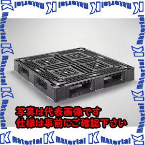 【代引不可】【個人宅配送不可】ESCO(エスコ) 1100x1100x150mm パレット・PP製(2枚) EA985P-3[ESC104368]