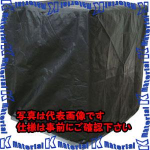 【代引不可】【個人宅配送不可】ESCO(エスコ) 1200x1200x1300mm パレットカバー(裾ひも式/黒) EA985PK-11[ESC104373]