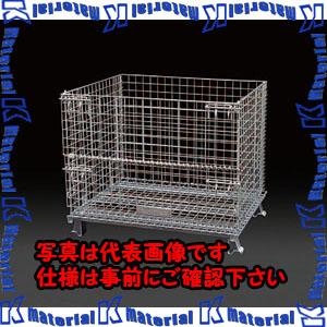 品質一番の 【P】【】【個人宅配送】ESCO(エスコ) 800x1000x850mm/1000kg メッシュパレット EA985R-8[ESC104377]:k-material-DIY・工具