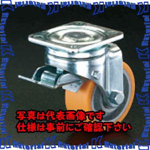 【代引不可】【個人宅配送不可】ESCO(エスコ) 125mm キャスター(自在金具・前輪ブレーキ付) EA986KG-2[ESC104819]