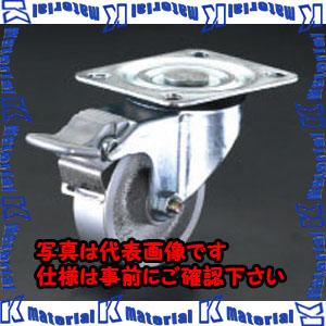 【代引不可】【個人宅配送不可】ESCO(エスコ) 150mm キャスター(自在・後ブレーキ・スティール車輪) EA986NA-4[ESC105155]