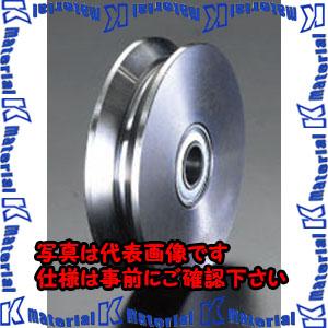 【代引不可】【個人宅配送不可】ESCO(エスコ) 150x33mm ダブルフランジホイール(ベアリング入) EA986RK-3[ESC105491]
