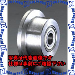 【P】【代引不可】【個人宅配送不可】ESCO(エスコ) 150x 60mm 車輪(Bベアリング・スティール製・レール用) EA986SF-150[ESC105594]