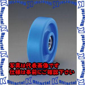 【代引不可】【個人宅配送不可】ESCO(エスコ) 200x45mm 車輪(ベアリング付・MCナイロン製) EA986WB-200[ESC105843]