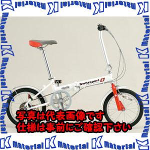 【代引不可】【個人宅配送不可】ESCO(エスコ) 16インチ 折畳み式自転車 EA986Y-12A[ESC105862]