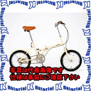 【P】【代引不可】【個人宅配送不可】ESCO(エスコ) 16インチ 折畳み式自転車 EA986Y-15[ESC105863]
