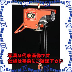 【P】【代引不可】【個人宅配送不可】ESCO(エスコ) 80kgx10m 電気ホイスト EA987DB-1[ESC105907]