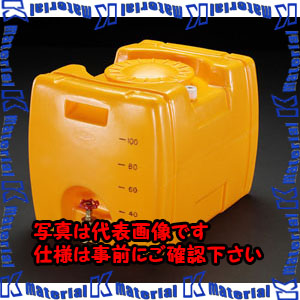 【代引不可】【個人宅配送不可】ESCO(エスコ) 100L ポリエチレン給水容器(バルブ付) EA991AB-1[ESC106653]