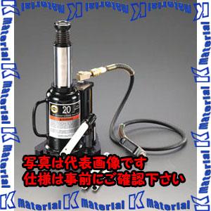 【代引不可】【個人宅配送不可】ESCO(エスコ) 12 ton 油圧式ジャッキ(エアーコントロール式) EA993CJ-1[ESC107601]