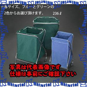 【P】【代引不可】【個人宅配送不可】ESCO(エスコ) 664x646x915mm ダストカート(エコ袋(緑)付) EA995AA-53E[ESC107990]