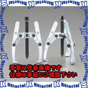 【代引不可】【個人宅配送不可】ESCO(エスコ) 300mm 2本爪プーラー EA500-300[ESC017954]