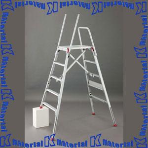 【P】【代引不可】長谷川工業 可搬式作業台 お立ち台伸縮タイプ 天板高1.80m DSK-18S 16170 [HS0390]