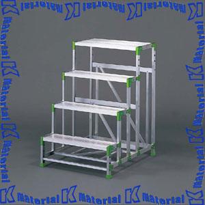 【P】【代引不可】長谷川工業 組立式作業台 エコシリーズ 天板高1.20m EWA-40 15651 [HS0339]