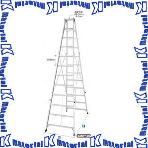 【代引不可】長谷川工業 長尺脚立 天板高2.30m XAM2.0-24 16362 [HS0072]