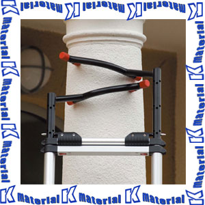 【代引不可】長谷川工業 テレスコピックラダー用トップサポート 2本セット TSH 15899 [HS0572]