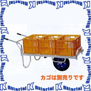 【代引不可】長谷川工業 コンテナカー コン助 荷台長さ111.5cm CN-60DN 33465 [HS0548]