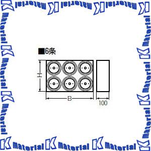 【代引不可】【個人宅配送不可】未来工業 KFEKB-100-6 1個 ブロックコネクタ [MR04502]