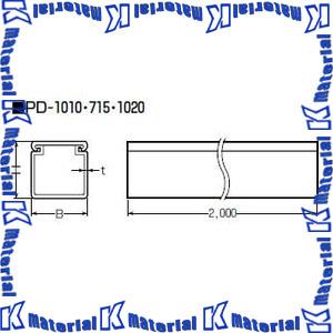 【代引不可】【個人宅配送不可】未来工業 PD-1020W 1本 プラスチックダクト 1020型 カベ白 [MR09600]