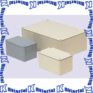 【代引不可】【個人宅配送不可】【受注生産品】未来工業 PVP-403025AM 1個 防水プールボックス 平蓋 長方形 [MR11819]