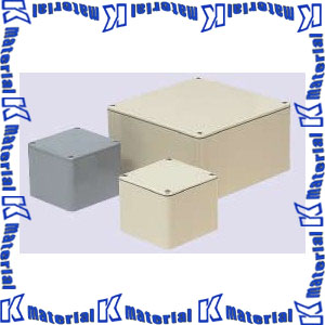 【代引不可】【個人宅配送不可】【受注生産品】未来工業 PVP-4040AM 1個 防水プールボックス 平蓋 正方形 [MR11891]