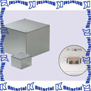 【代引不可】【個人宅配送不可】【受注生産品】未来工業 SUP-6030E 1個 ステンレスプールボックス 平蓋 アース端子付 [MR19035]