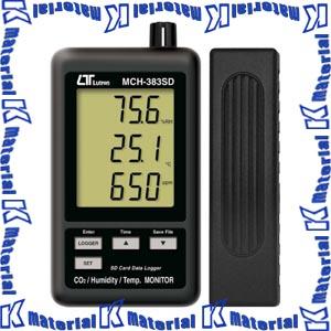 【P】【代引不可】マザーツール デジタル温湿度・CO2計 MCH-383SD [MAZ0042]