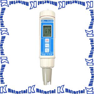 【P】【代引不可】マザーツール ペン型デジタルPHメータ PH-222 [MAZ0122]