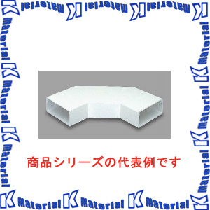 【P】マサル工業 エルダクト付属品 4020型 平面大マガリ LDM2422 ホワイト [ms2374]