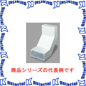 【P】マサル工業 エルダクト付属品 4030型 内大マガリ LDU2432 ホワイト [ms2425]