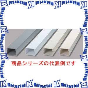 【P】マサル工業 エムケーダクト 6号200型 1m MD6202L10 ホワイト [ms1409]