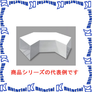 【P】マサル工業 エムケーダクト付属品 6号200型 平面大マガリ MDLM6201 グレー [ms1618]