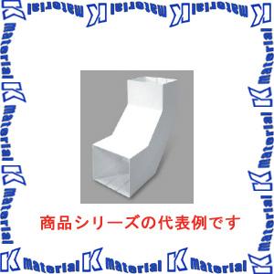 【P】マサル工業 エムケーダクト付属品 6号200型 内大マガリ MDLU6202 ホワイト [ms1651]