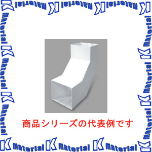 【P】マサル工業 エムケーダクト付属品 7号150型 内大マガリ MDLU7151 グレー [ms1658]