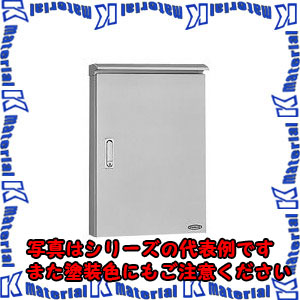 【P】【代引不可】【個人宅配送不可】日東工業 SORB12-49 (ステンレスBOX ステンレス屋外用制御盤キャビネット
