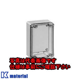 【P】【代引不可】【個人宅配送不可】日東工業 PBE11-2330 (ポリカBOX ポリカボックス