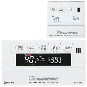 ノーリツ GTH-C用マルチセット 浴室暖房スイッチ付リモコン 音声ガイドあり 【台所用 浴室用セット】[RC-E9109-1]