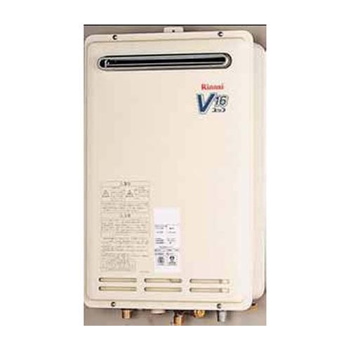 【送料無料】 リンナイ ガス給湯器 16号 給湯専用 音声ナビ 壁組込設置型 15A 【リモコン別売】[RUK-V1610BOX] 価格 給湯器【給湯専用】
