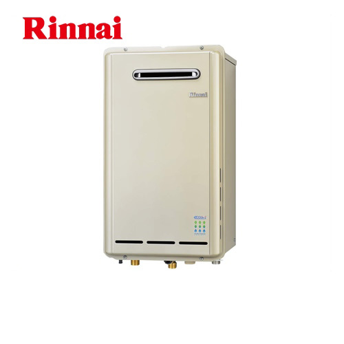 [RUX-E2403W-13A]【都市ガス】 リンナイ ガス給湯器 給湯専用 24号 エコジョーズ 屋外壁掛/PS設置型 20A 【給湯専用】