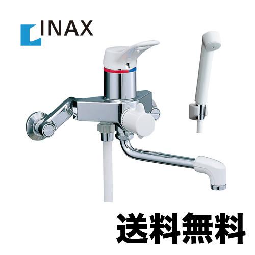 [BF-M135S] INAX イナックス シャワー水栓 サーモスタットシャワー金具 壁付タイプ ミーティスシリーズ スプレーシャワー 吐水口長さ:170mm【シールテープ無料プレゼント!(希望者のみ)※水栓の箱を開封し同梱します】 混合水栓 蛇口 浴室用