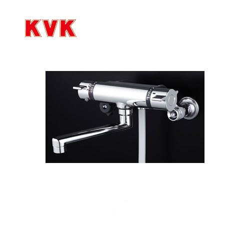 [KF800THA]KVK 浴室水栓 シャワー水栓 サーモスタットシャワー金具(壁付きタイプ) 楽締めソケット付 逆止弁 快適節水シャワー 蛇口 【送料無料】 壁付タイプ おしゃれ