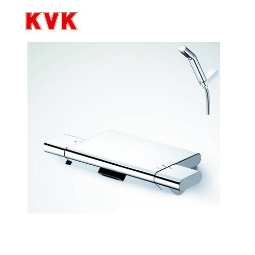 [KF900W]KVK 浴室水栓 サーモスタット式シャワー 壁付タイプ 寒冷地用 【送料無料】 おしゃれ