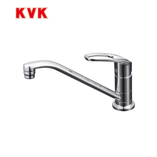 [KM5011ZUT]KVK キッチン水栓 シングルレバー式混合栓 取付穴兼用型 ワンホールタイプ 寒冷地用 【送料無料】 おしゃれ