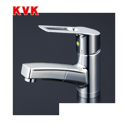 [KM8001TEC]KVK 洗面水栓 洗面用シングルレバー式混合栓 ワンホールタイプ eレバー 【送料無料】 おしゃれ 洗面台 蛇口
