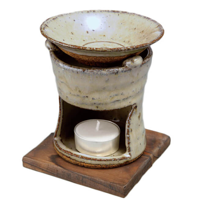 手造り 茶香炉/ 茶香炉 伊良保 /アロマ 癒やし リラックス インテリア 間接照明