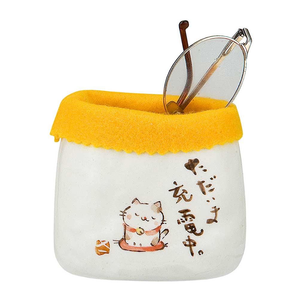 メガネスタンド セールSALE%OFF 高級品 ケース メガネ立 猫 癒やし インテリア 贈り物 プレゼント ギフト