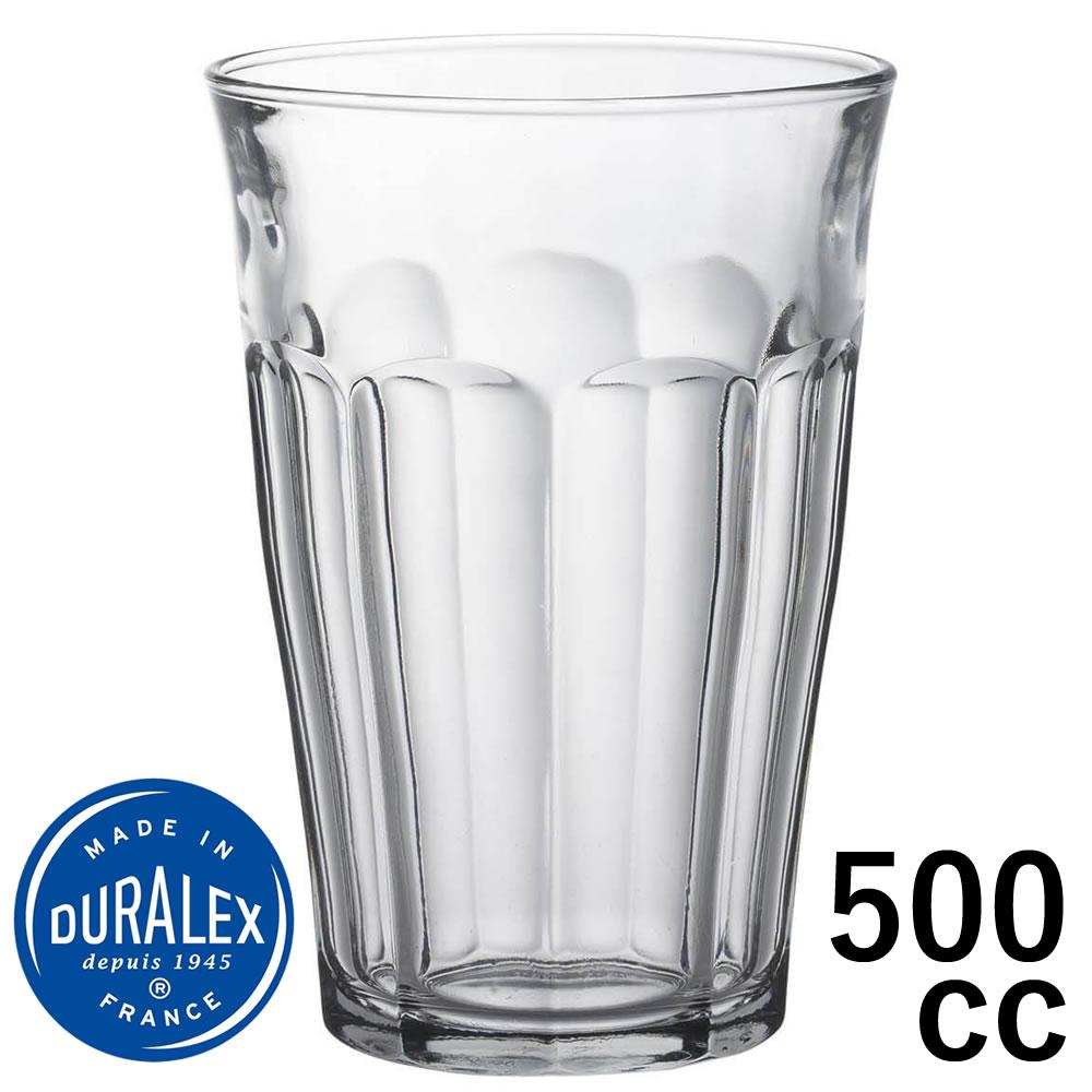 デュラレックス ピカルディー 500ml DURALEX ピカルディ 500cc グラス タンブラー 業務用 家庭用 グッドデザイン賞受賞 全国一律送料無料 定価 熱湯OK ガラス ホット コップ おしゃれ レンジOK カフェ 強化 割れにくい