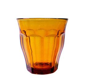 琥珀色の美しいピカルディ DURALEX 豊富な品 デュラレックス 社製 1個から購入可能 ガラス グラス コップ タンブラー カフェ レンジ 家庭用 2020秋冬新作 250cc 業務用 熱湯 食洗機OK デュラレックスピカルディアンバー 強化
