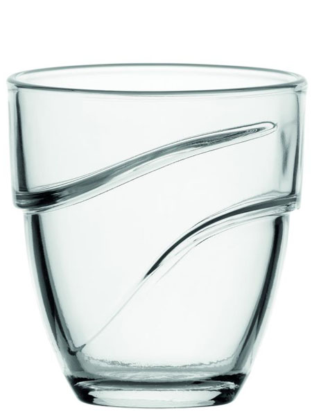 DURALEX デュラレックス 波のようなデザインがおしゃれ スタッキングもできる 1個から購入可能 35%OFF コップ 強化 ウェーブ270cc お酒 業務用 カフェ おしゃれ 家庭用 おもてなし ジュース チープ